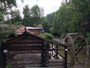 водяная мельница Чусовая