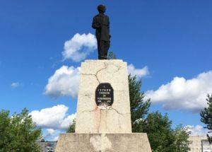 Памятник Героям революции в Лысьве