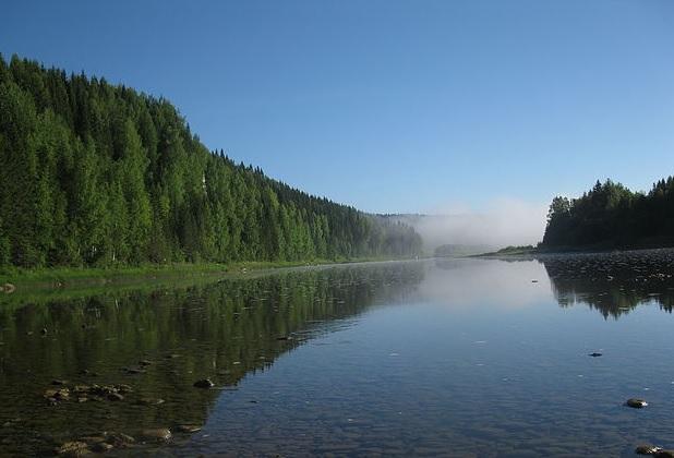 Река Яйва в Пермском крае