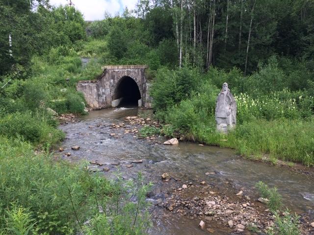 река Архиповка в Чусовом
