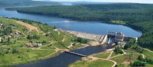 Широковская ГЭС на Косьве