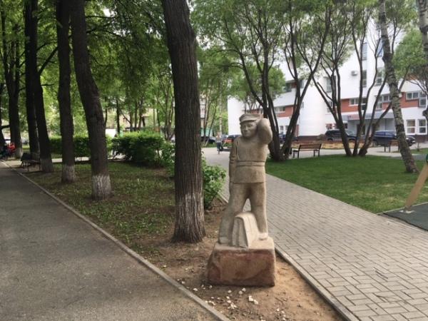 Памятник Ивану Семенову в Перми
