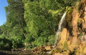 Водопад Плакун в Пермском крае
