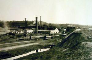 Кизеловский завод. Фото начала XX века.