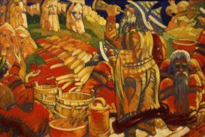 Песнь Перуну художник Субботин-Пермяк