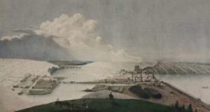 Добрянский завод на рисунке в XIX веке