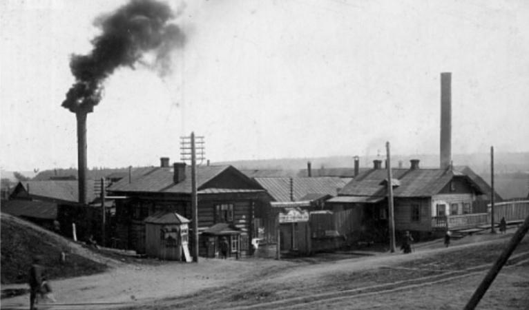 Нытвенский завод в Пермской области старое фото