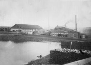Очерский завод в городе Очер