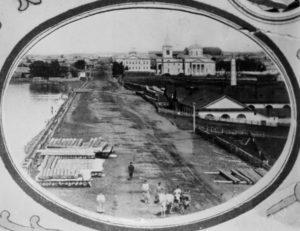 Очерский завод на фото XIX века
