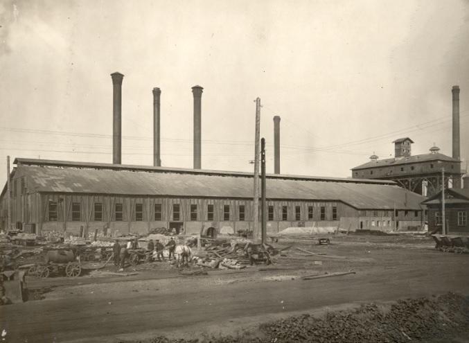 Чусовской металлургический завод фото XX века