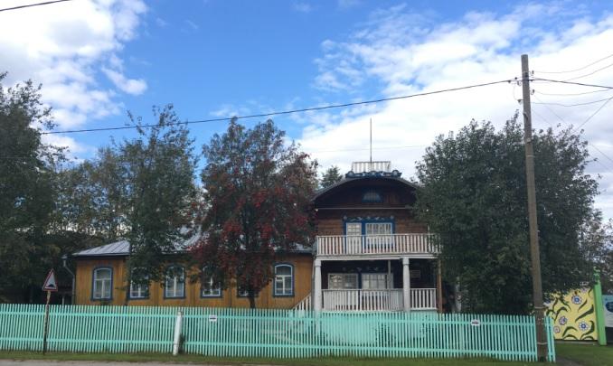 Дом-музей Василия Каменского в Троице