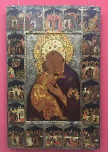 Влидимирская Божия Матерь из собрания галереи.