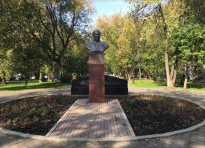 Памятник Борису Коноплеву в Перми.