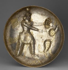 Шапур III и его охота на зверя.