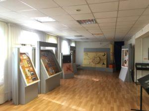 экспозиция в доме-музее Василия Каменского в Троице