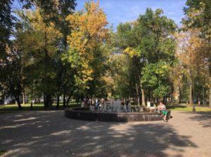 Фонтан в пределах Тихого Компроса в Перми