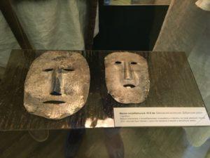 погребальные маски баяновский могильник