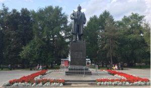 памятник Ленину в Перми у театра