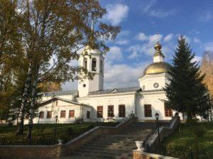 Свято-Никольский собор в городе Кудымкар
