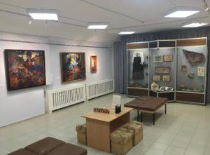 Выставка работ Субботина-Пермяка в Кудымкаре