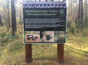 Экологическая тропа имени лесоводов Прикамья вход