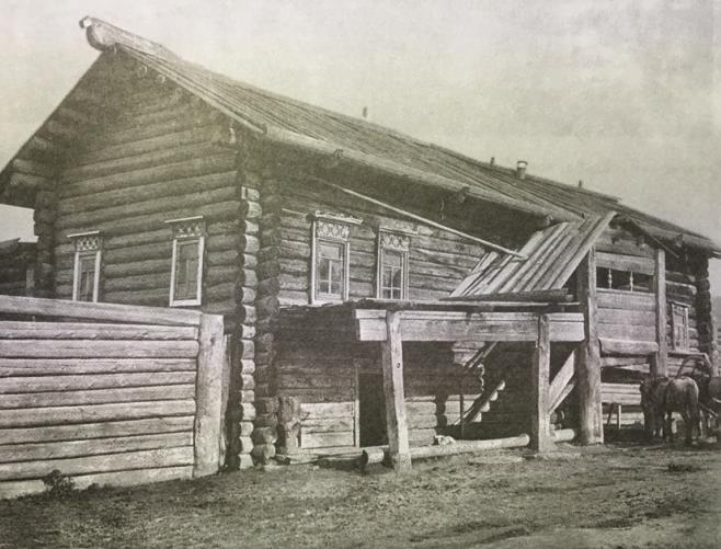 Пермяцкое жилье фото