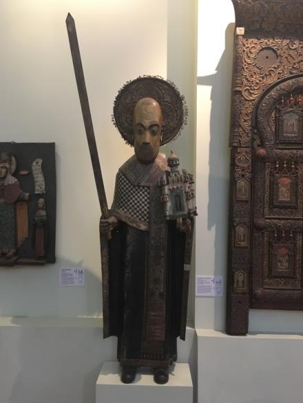 Никола Можайский пермская деревянная скульптура