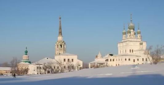 Соликамск зима