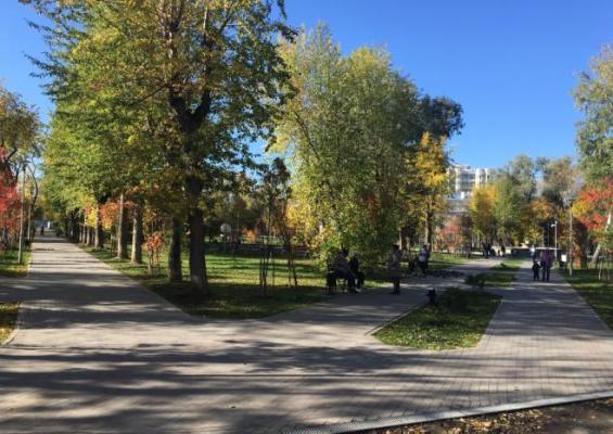 Сквер имени Розалии Землячки Пермь