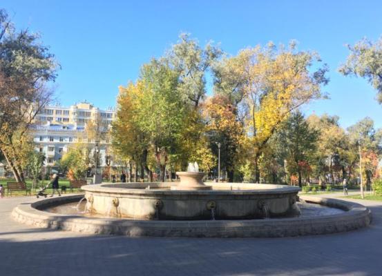 фонтан в сквере имени Землячки.