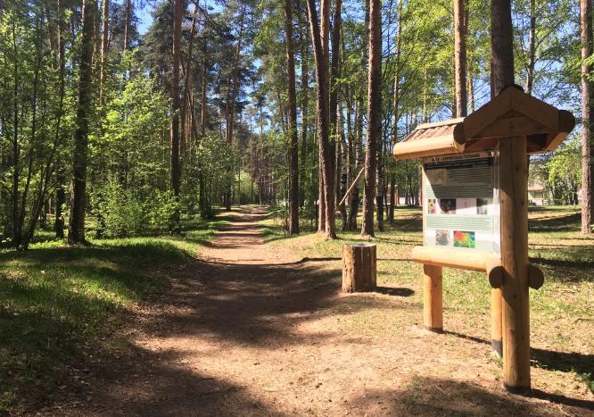 Прогулка по экотропе Terra Oecologia