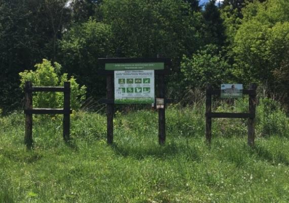 Вход на экологическую тропу Андроновские горы