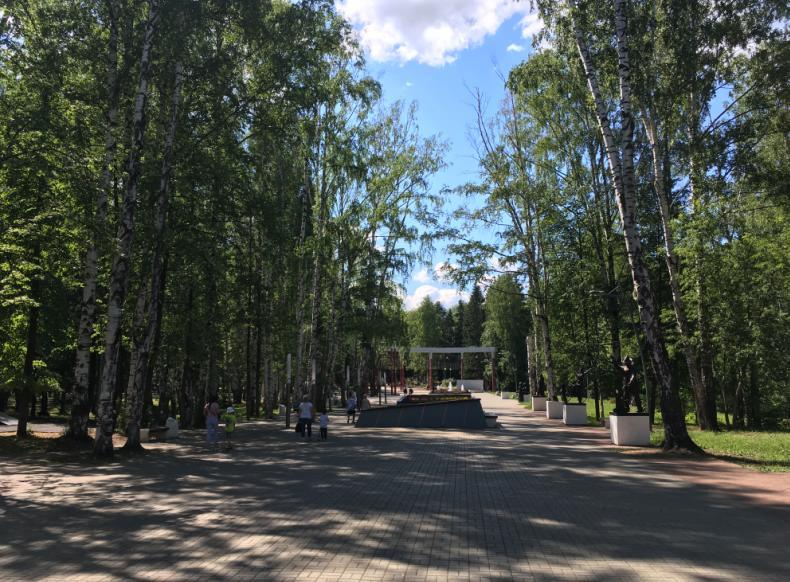Парк Чехова Пермь