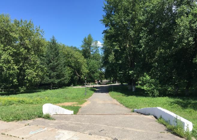 Парк Свердлова в Перми