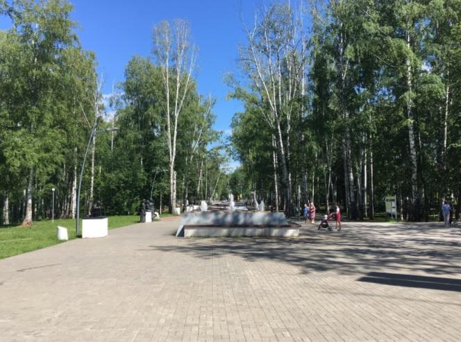Парк имени Чехова Пермь Гайва