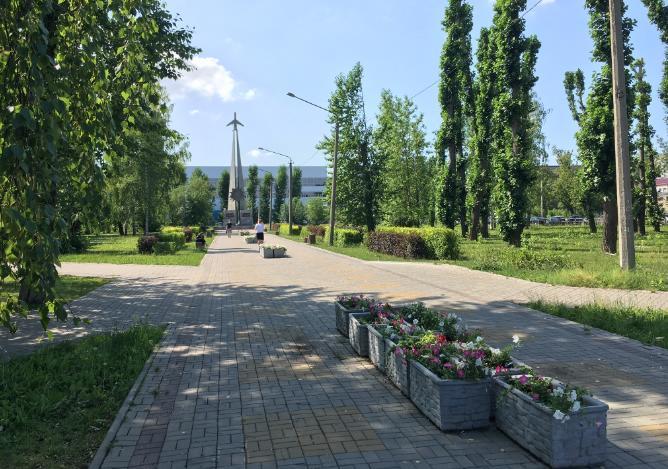Сквер авиаторов в Перми