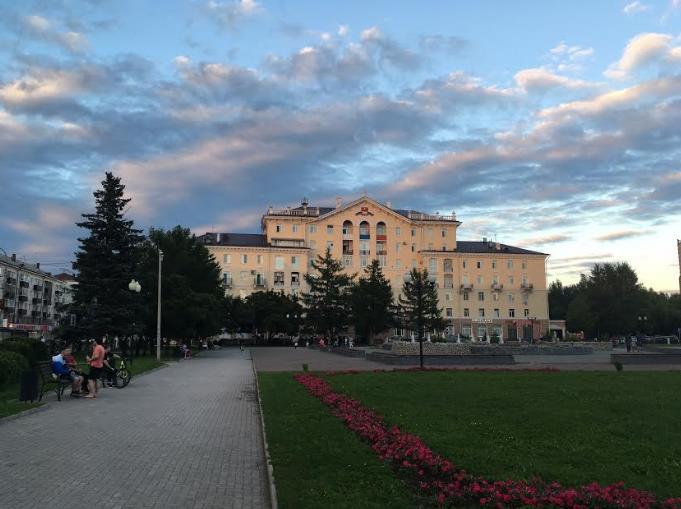 Сквер Дзержинского в Перми