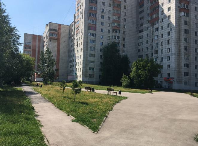 Сквер имени Краснова в Перми