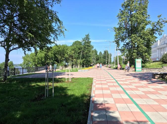 Сквер Решетникова в Перми