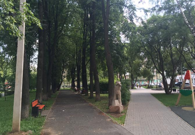 Сквер Желаний в Перми
