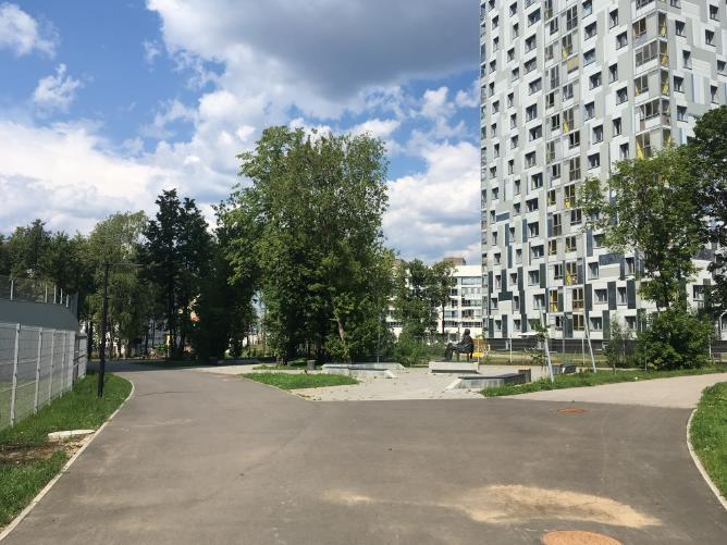 Сквер Бурковка в Перми