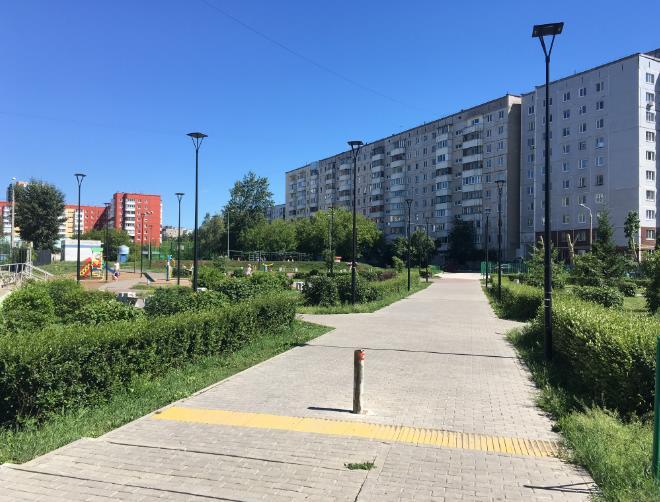 Сквер имени Михеева в Перми