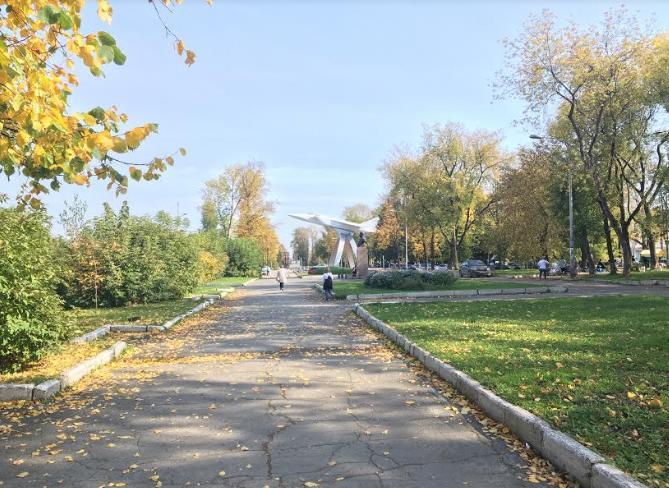 Сквер имени Субботина в Перми