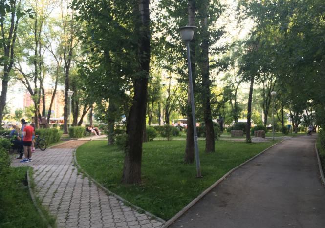 Сквер имени Гагарина в Перми