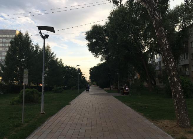 Сквер парад планет Пермь
