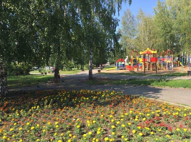 Сквер победителей в Перми