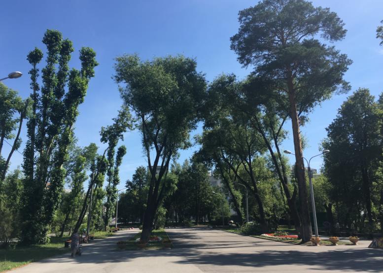 Сквер у ДК Кирова в Перми