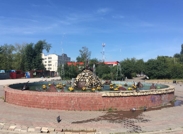 Сквер Александра Невского в Закамске