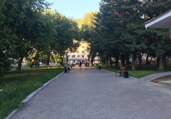 Сквер имени Любимова Пермь
