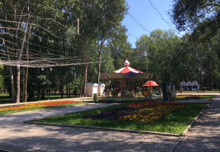парк Миндовского Пермь карусель